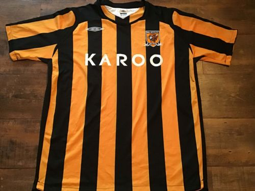 2008 2009 Hull City Home Football Shirt 2XL